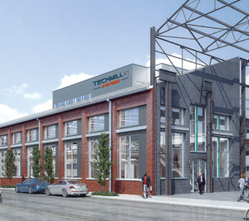 Machine Shop - Exterior Rendering